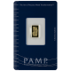 PURE GOLD BARS 1 GRAM PAMP
