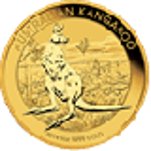 1 OZ AUSTRALIAN GOLD KANGAROO (NO PLASTIC)