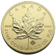 CANADIAN GOLD MAPLE LEAF 1 OZ COMMON DATE