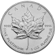 CANADIAN PLATINUM MAPLE LEAF 1 OZ COMMON DATE
