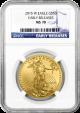 2015 $50 Burnished American Gold Eagle