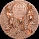 Majestic Copper Eagle 50 grams Copper Collectible Coin Super High Relief