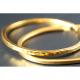 WEARABLE BULLION 1 OZ GOLD BRACELET HAMMERED NO PACKAGING