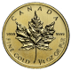 CANADIAN GOLD MAPLE LEAF 1/4 OZ COMMON DATE