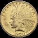 U.S. GOLD AU $10 INDIAN