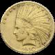 U.S. GOLD LOW PREMIUM $10 INDIAN