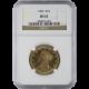 U.S. GOLD NGC MS 62 $10 LIBERTY