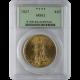 U.S. GOLD PCGS MS 62 $20 ST.GAUDENS U.S. GOLD