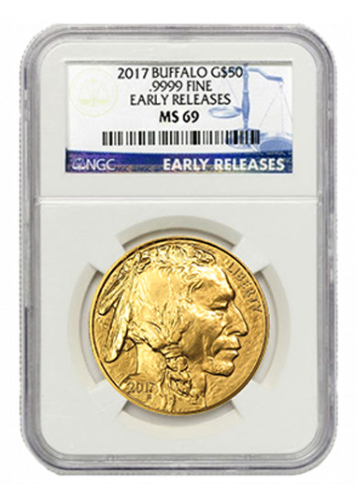 Gold Buffalo Early Releases Ms69 Ngc