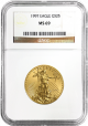 1997 $25 Gold American Eagle 1/2 oz MS 69
