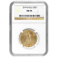 2014 $25 American Gold Eagle MS-70 NGC