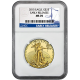 2015 $25 American Gold Eagle Early Release MS70 NGC