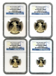 "2015-W ""Ultra Cameo Proof 70"" American Gold Eagles"