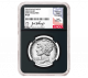 """2018 $25 American Palladium Eagle Proof """"Early Releases"""" with Joel Iskowitz Signature Label PF-70 by NGC"""