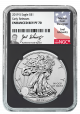 2019-S-Enhanced-Reverse-Proof-Silver-Eagle-Proof-70-Signed-by-Joel-Iskowitz