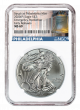2020 American Silver Eagle Emergency Production Philadelphia Mint Early Releases MS-69 NGC