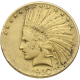 U.S. GOLD LOW PREMIUM $10 INDIAN