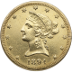 U.S. GOLD LOW PREMIUM $10 LIBERTY