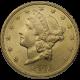 U.S. GOLD BU $20 LIBERTY