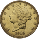 U.S. GOLD LOW PREMIUM $20 LIBERTY
