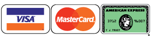 IPM Accepts All Major Credit Cards